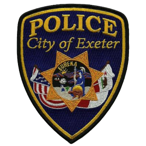 EXETER POLICE BADGE